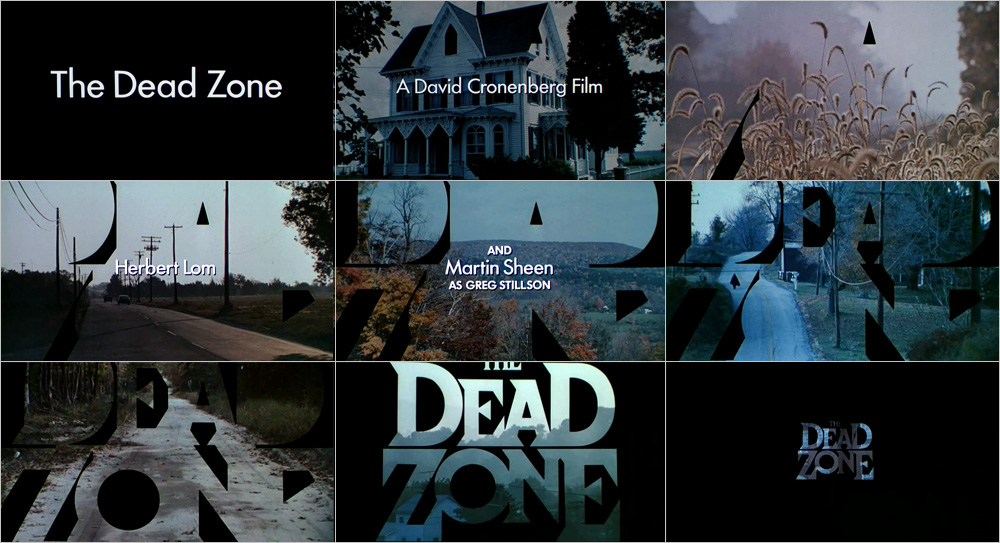 The Dead Zone opening title sequence by Wayne Fitzgerald
