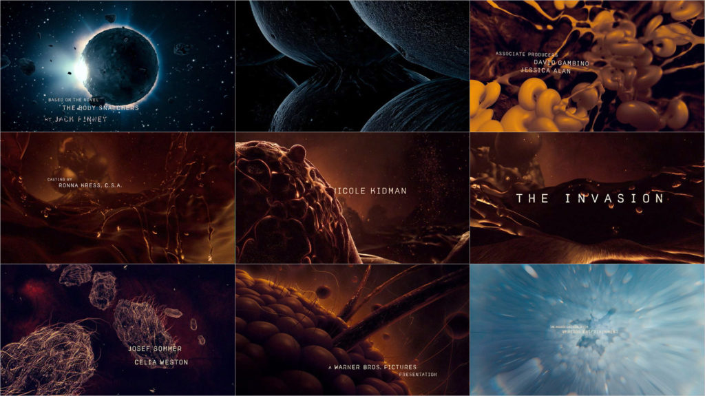 The Invasion title sequence by Danny Yount Prologue